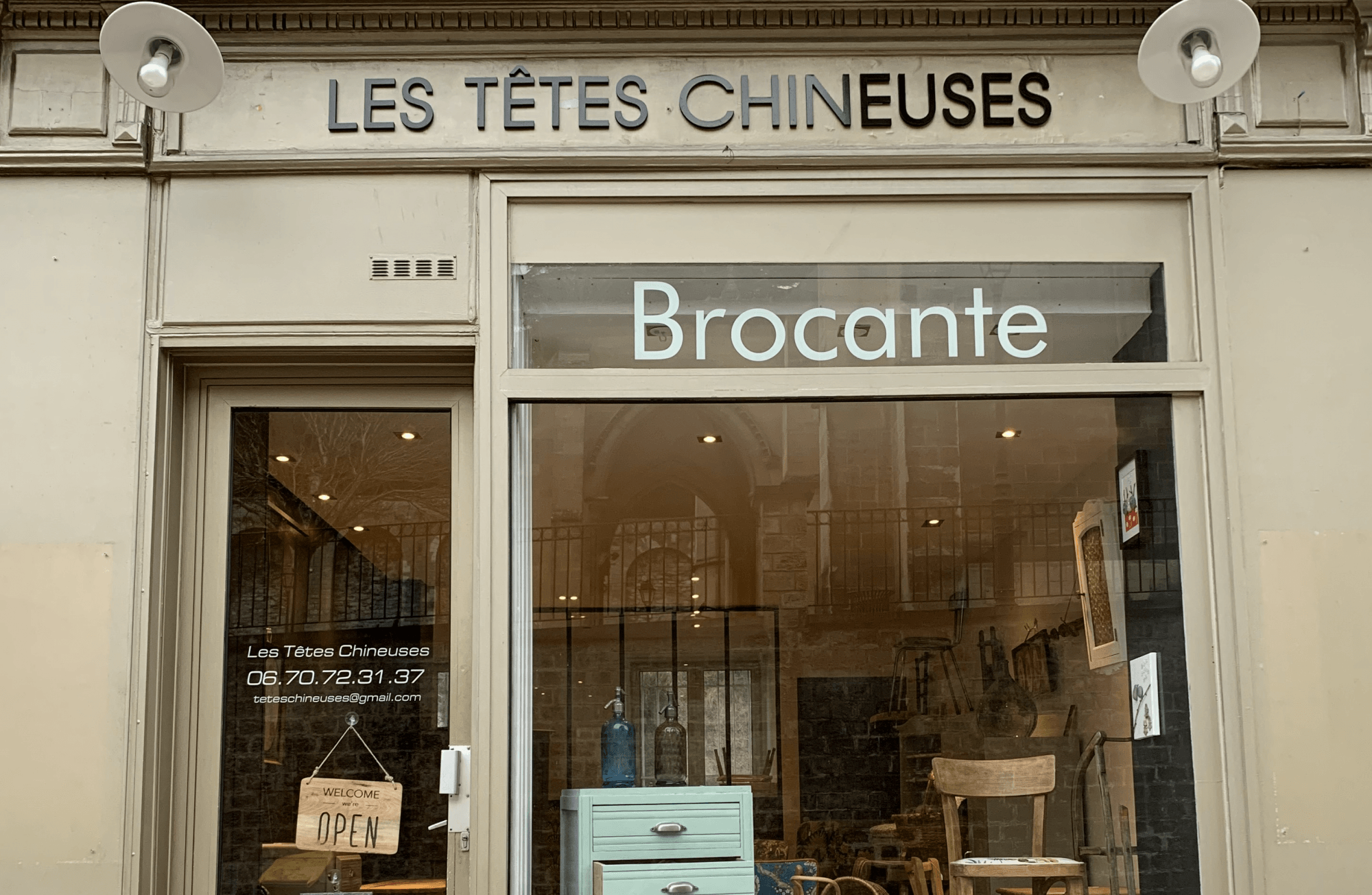 Les Têtes Chineuses